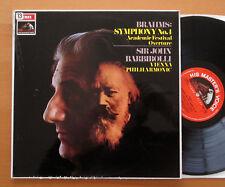 ASD 2433 Brahms Symphony no. 1 Sir John Barbirolli 1968 ED1 Semi-Circle NM/VG