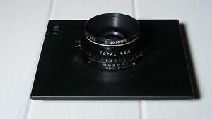 150mm Sinaron S Lens - Copal No. 0 Shutter - 4x5 Sinar Board - Bundle