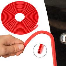 Red Rubber Car Door Flexible Trim Edge Lock Guard Moulding Seal Strip Protector