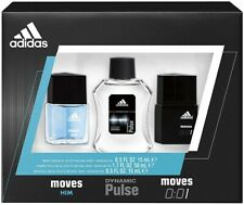 Adidas Moves Him Men's Cologne Natural Spray 3-piece Gift Set Count Down to Zero