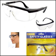 DIY Eye-Goggles Glasses Industrial Safety Protection FOG Clear Vision Lens Cover