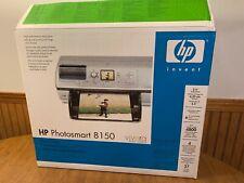 HP Photosmart 8150 Digital Photo Inkjet Printer New Open Box Complete