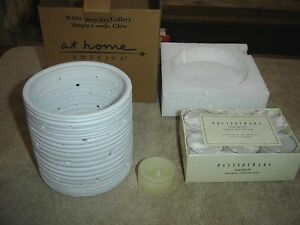At Home America Simple Candle Glow White Dove Pottery Barn Tealights Sealed New