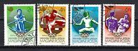 jo Sommer Ungarn (47) Serie komplette mit 4 Briefmarken entwertet