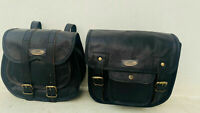 bags 2 Motorcycle Saddlebags 2 Side Pouch Durable Leather Pouch Panniers Saddle