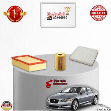 KIT TAGLIANDO FILTRI JAGUAR XF 3.0 Diesel V6 177KW 240CV DAL 2009 ->