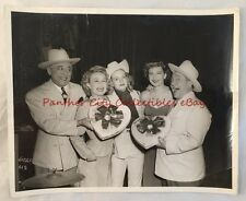 c1940s Pangburn's Candy Photo Olsen and Johnson Comedians Fort Worth Texas