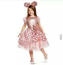 Minnie Mouse costume for kids, Rose Gold, Disney Store