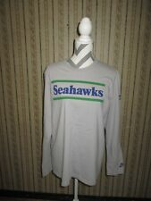 PRE-OWNED men's NIKE throwback SEATTLE SEAHAWKS long sleeve t-shirt / sz XL