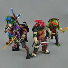 "4pcs/Lot Teenage Mutant Ninja Turtles Movie 5"" PVC Action Figure Toys TMNT toy"