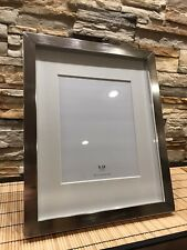 Pottery Barn Accents Frame 8x10 Photo Display In Antique Pewter Finish