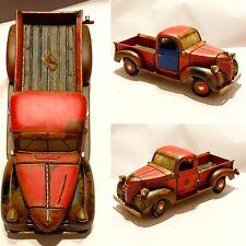 CUSTOM Motormax [1941 Plymouth Pickup] 1:24 Diecast Model 73278 Junkyard Diorama