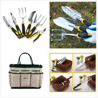 7 Piece Garden Tools Pruning Shears Kit  Vegetable Herb Tools & Storage Bag USA