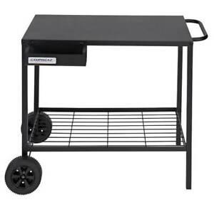 Campingaz black plancha bbq trolley