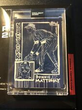Topps Project 2020 DON MATTINGLY #69 1984 RC by GREGORY SIFF New York Yankees SP