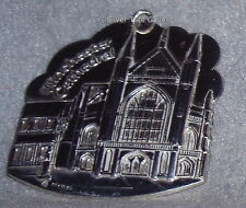 HTF Jabeh 1989 June Anne Hare Winchester Cathedral Sterling Ornament  Medallion