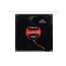 Ever Cool 70mm x 70mm x 25mm 12v Dual Ball Bearing 4Pin PWM Fan, EC7025SH12BP