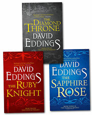 The Elenium Trilogy Collection David Eddings 3 Books Set Diamond Throne,Ruby