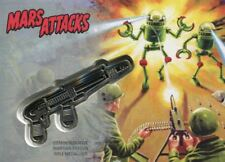 Mars Attacks The Revenge Silver Medallion [15] Card CM-RA Robot Army Attacks