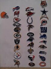32x NFL National Football League Patch Applique embroidered Iron on Collection