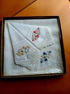 Hellrosa Set Frauen Platz Taschentuch Floral Bestickte Tasche Einstecktuch Spitze Patchwork Baby L/ätzchen Handtuch ZOOMY 3Piecs