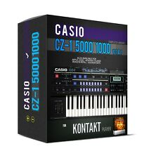CASIO CZ-1 5000 1000 101 Sample Library for KONTAKT PLAYER NKI sounds samples