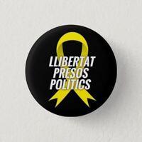 Chapa Pin Button Badge LLIBERTAT PRESOS POLITICS