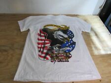 Vintage Screen Stars Mens Shirt Support Our Troops Desert Storm Size XL NWOT