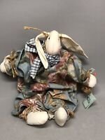 Sew So Special Stuffed Eater Bunny with Carrot & Long Ears Spring Rabbit Doll