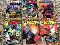 G.I. Joe- 6 Issue Lot All Newsstands Issues #18 22 23 24 29 30 1st Prints!