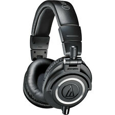 Audio-Technica ATH-M50x Professional Headphone(3 CABLES)(Black) 2 YEARS WARRANTY