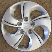 "Genuine Honda Civic hubcap 15"" wheel cover 2013 2014 2015 5 twisted spokes"