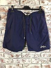Superdry Blue Swim Shorts. Size S. Ex Condition