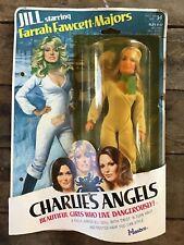 1970's Charlie's Angels Jill Staring Farrah Fawcett Figure Doll /HASBRO Card MOC