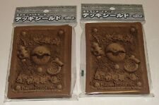 Japanese Pokemon Official Card Sleeves, Fossil Pattern 2 Packs(64) sealed