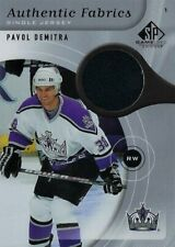 2005-06 SP GAME USED AUTHENTIC FABRICS JERSEY PAVOL DEMITRA AF-DE