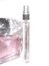 Versace Bright Crystal Eau de Toilette 10ml Glass Travel SAMPLE 0.33oz EDT