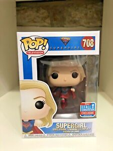 SUPERGIRL NYCC 2018 LIMITED CONVENTION EXCLUSIVE NYCC FUNKO POP DC COMICS #708