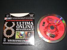 Rare Pc Gamer Demo Ultima Online: Renaissance Pc Cd Dec 2000 Disc 6.2 No. 2
