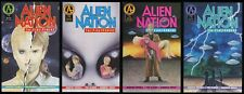 Alien Nation The Firstcomers Comic Set 1-2-3-4 Lot Based on the 1988 Movie UFO