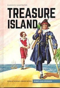 Treasure Island - Classics Illustrated British Hardback Special Edition, NEW