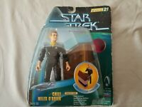 Star Trek Chief Miles O'Brien Warp Factor Series 2 Action Figure New