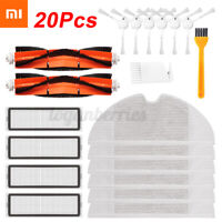 Filter Side Brush Mop Cloth Replacement Kits For STYTJ01ZHM Vacuum Cleaner