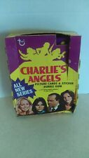 Vintage 1977 Topps Charlie's Angels Series 3 Bubble Gum Card Wax Box + 36 Packs
