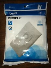 VAC Bissell Type 1/4 7 HEPA Vacuum Filter AA10147 440002693  3 Per Pk