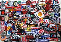Wholesale Patch Sponsor Racing Embroidered Iron On Patch Applique Sew Random