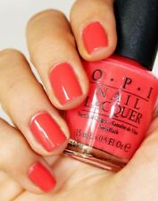 New OPI MOD-ERN GIRL Bright Coral Orange Nail Polish Lacquer .05oz Summer B65