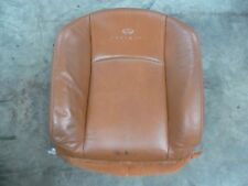 03 04 05 Infiniti FX35 Passenger Seat Upper Cushion Brick Brown Leather OEM