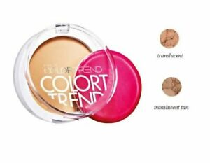 Avon Color Trend Pressed Powder Translucent - BNIB
