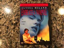 Embrace The Vampire Dvd! 1995 Horror! (See) Martin & Blacula